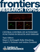 Central control of autonomic functions in health and disease
