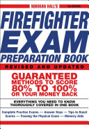 Pdf Norman Hall's Firefighter Exam Preparation Book Telecharger