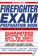 """""""Norman Hall's Firefighter Exam Preparation Book"""" by Norman Hall"""