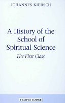 A History of the School of Spiritual Science