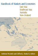 Handbook of Markets and Economies  East Asia  Southeast Asia  Australia  New Zealand