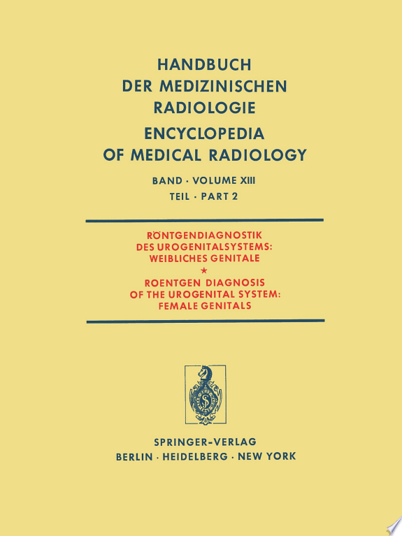 Röntgendiagnostik des Urogenitalsy