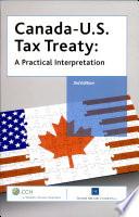 Canada U S  Tax Treaty