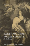 Early Modern Women Poets (1520-1700) ebook