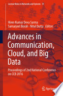 Advances in Communication  Cloud  and Big Data Book