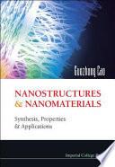Nanostructures   Nanomaterials Book