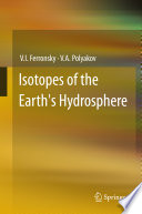 Isotopes Of The Earth S Hydrosphere