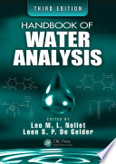 Handbook Of Water Analysis Book PDF