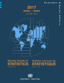 Pdf Monthly Bulletin of Statistics, April 2017 Telecharger