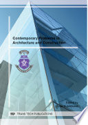 Contemporary Problems In Architecture And Construction
