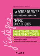 Pdf La force de vivre - Prépas scientifiques - Français-Philosophie - Programme 2020-2021 Telecharger