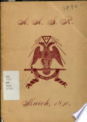 Annual Convocation of [Wisconsin Consistory of The] Ancient Accepted Scottish Rite of Valley of Milwaukee