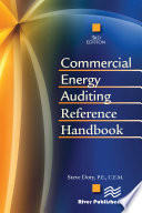 Commercial Energy Auditing Reference Handbook  Third Edition