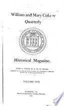 William and Mary College Quarterly Historical Magazine
