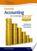 Accounting for Cambridge IGCSE Workbook