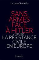 Sans armes face à Hitler Pdf/ePub eBook