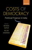 Costs of Democracy Pdf/ePub eBook