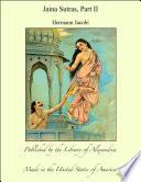 Jaina Sutras  Part II