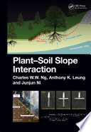 Plant Soil Slope Interaction