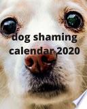 Dog Shaming Calendar 2020