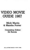 Video movie guide 1987
