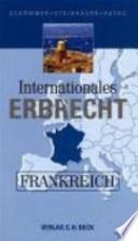 Internationales Erbrecht Frankreich