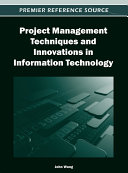 Project Management Techniques and Innovations in Information Technology Pdf/ePub eBook