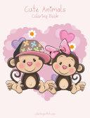 Cute Animals Coloring Book 1