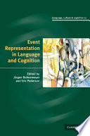 Event Representation in Language and Cognition