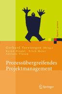 Prozessübergreifendes Projektmanagement