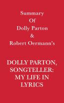 Summary of Dolly Parton and Robert Oermann's Dolly Parton, Songteller: My Life in Lyrics Pdf/ePub eBook