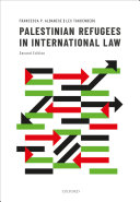 Palestinian Refugees in International Law