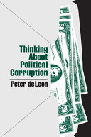 Pdf Thinking About Political Corruption Telecharger