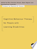 Cognitive Behaviour Therapy For People With Learning Disabilities Book PDF