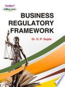 Business Regulatory Framework  Latest Edition   2020  Book