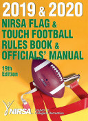 2019 and 2020 NIRSA Flag and Touch Football Rules Book and Officials  Manual