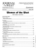 Pdf Journal of the West