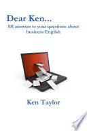 Dear Ken Book