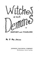 Witches and Demons in History and Folklore