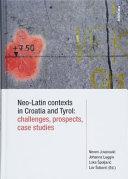 Neo-Latin Contexts in Croatia and Tyrol
