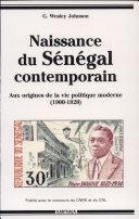 Naissance du Sénégal contemporain