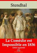 Pdf La comédie est impossible en 1836 Telecharger