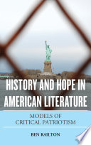 History and Hope in American Literature Book