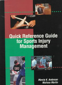 Quick Reference Guide For Sports Injury Management Book PDF
