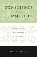 Conscience and Community Pdf/ePub eBook