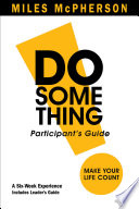 DO Something  Participant s Guide