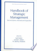 Handbook of Strategic Management, Second Edition,
