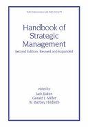 Handbook of Strategic Management, Second Edition,