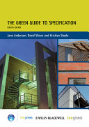 Green Guide to Specification