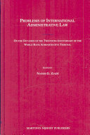 Problems of International Administrative Law